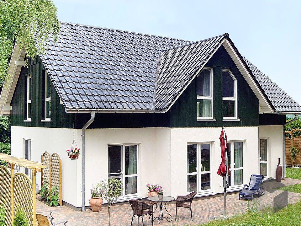 Einfamilienhaus Maxx 3/3 XL von EBH Haus Außenansicht