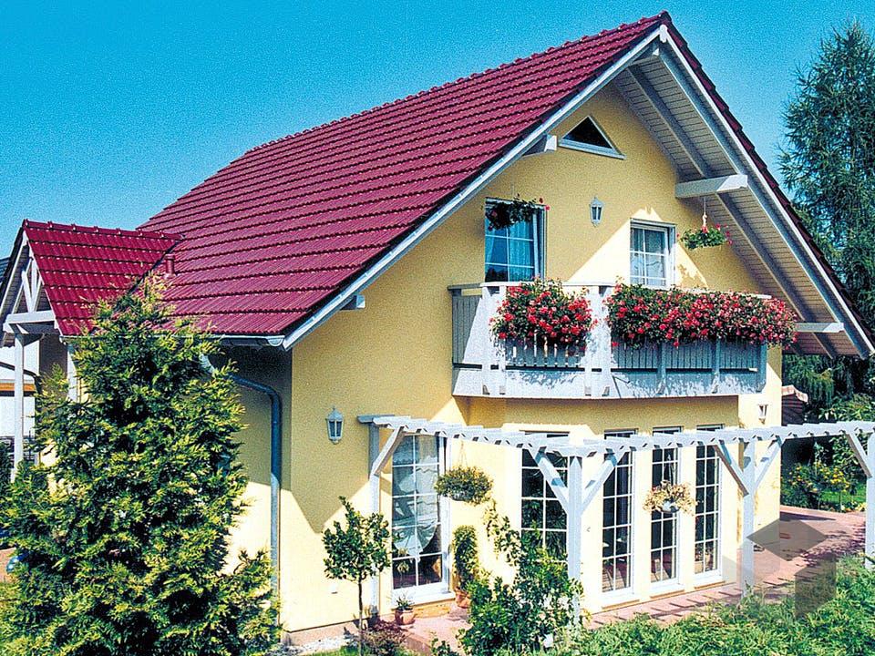 Einfamilienhaus Maxx 4/2 von EBH Haus Außenansicht