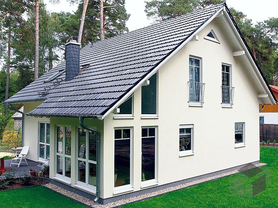 Einfamilienhaus Maxx 4/6 von EBH Haus Außenansicht