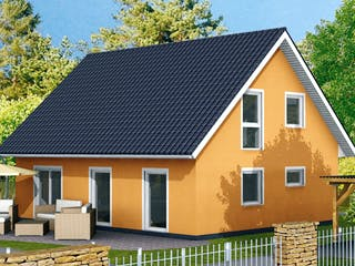 Einfamilienhaus Ratio 3/42° von EBH Haus Außenansicht 1