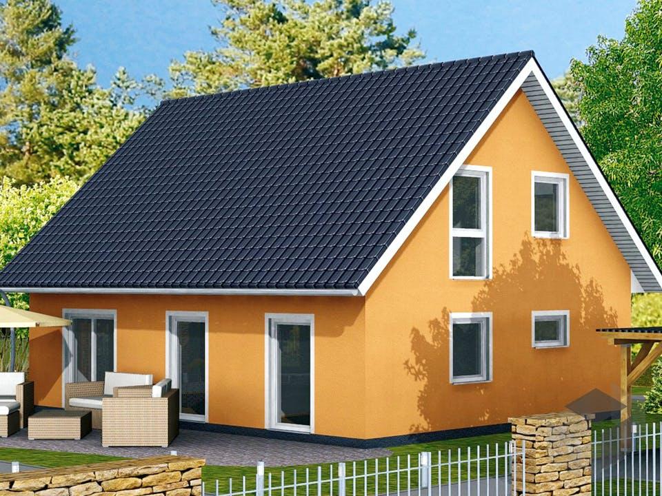 Einfamilienhaus Ratio 3/42° von EBH Haus Außenansicht