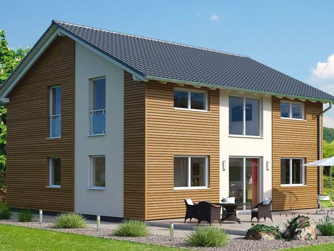 Einfamilienhaus Ratio 5/25° mit Ankleide von EBH Haus Außenansicht 1