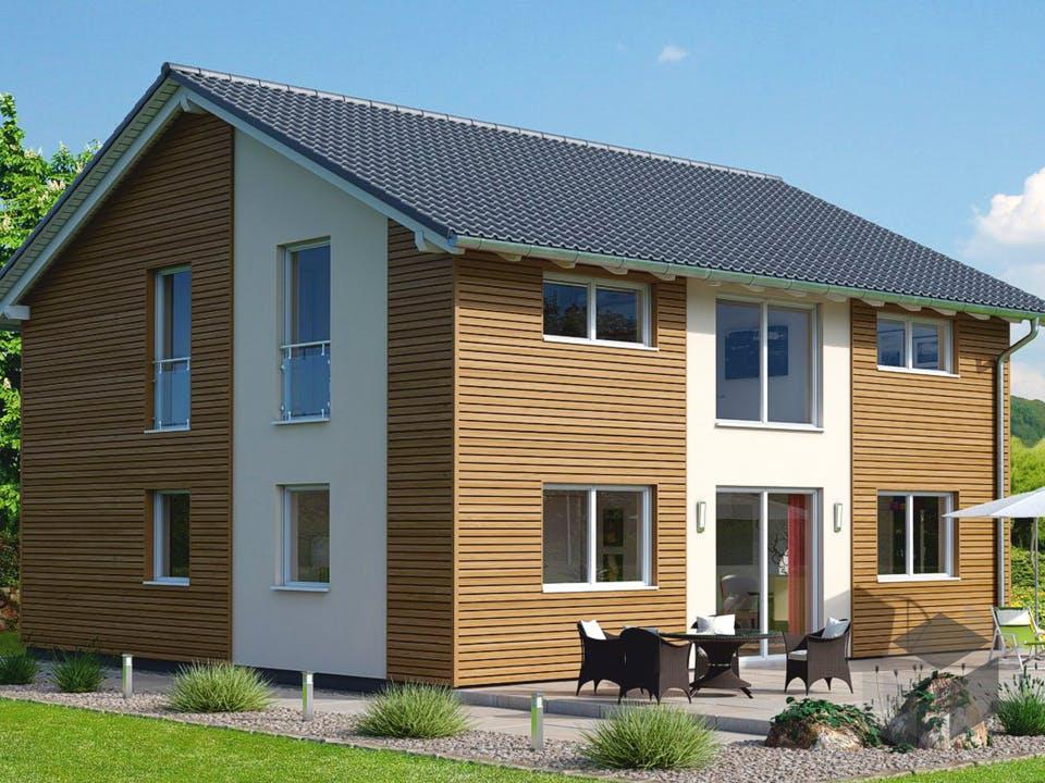 Einfamilienhaus Ratio 5/25° mit Ankleide von EBH Haus Außenansicht