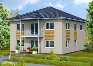 Stadtvilla S 4 B mit Balkon