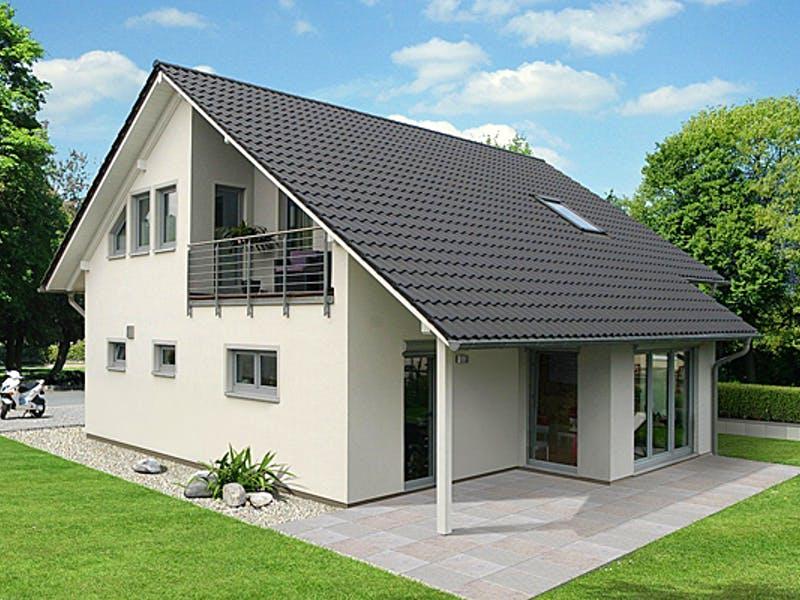 Fertighaus mit Satteldach von EBH Haus