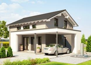 Einfamilienhaus mit integrierter doppelgarage satteldach  Bielefeld von STREIF Haus | komplette Datenübersicht - Fertighaus.de