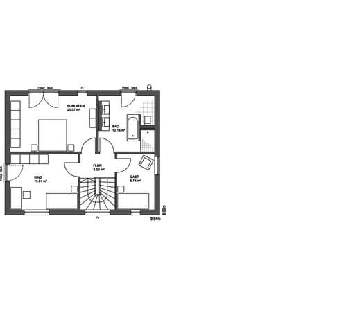 Edition 21 plus Flachdach floor_plans 0