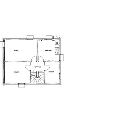Edition 21 plus flachdach von luxhaus komplette for Anbauelemente haus