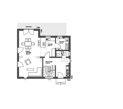Edition 21 plus Pultdach Klassik floor_plans 1