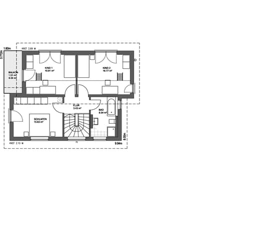 Edition 21 plus pultdach modern von luxhaus komplette for Floor plans for 160 000