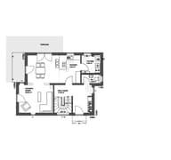 Edition 21 plus Pultdach Modern floor_plans 1