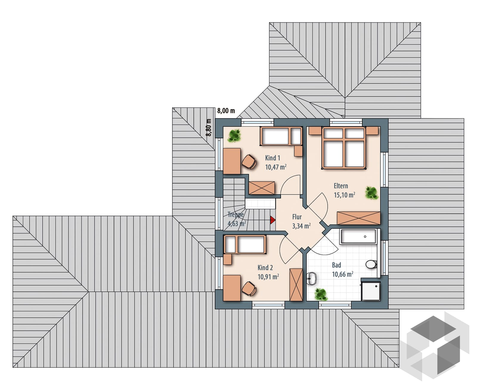 edition select 196 von wolf haus komplette daten bersicht. Black Bedroom Furniture Sets. Home Design Ideas