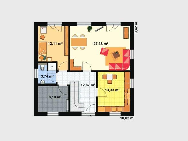 Einfamilienhaus A 2 L 45° floor_plans 1