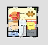 Einfamilienhaus A 3 L Grundriss