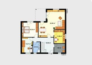 Einfamilienhaus A 6 Grundriss