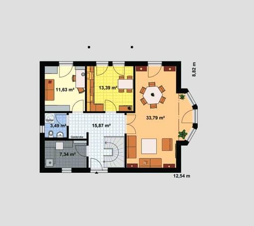 Einfamilienhaus Heideland 2 floor_plans 1