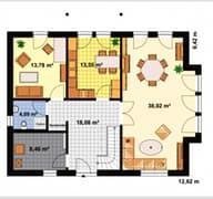 Einfamilienhaus Heideland 3 Grundriss