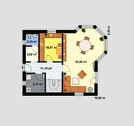 Einfamilienhaus Maxx 2/4 Grundriss