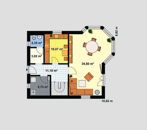 Einfamilienhaus Maxx 2/4 floor_plans 1
