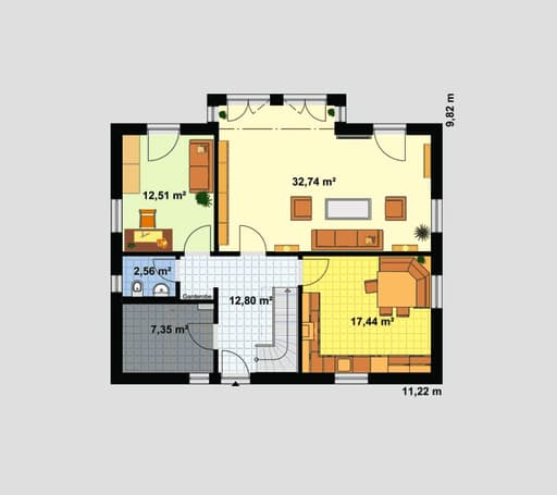 Einfamilienhaus Maxx 3/3 XL floor_plans 1