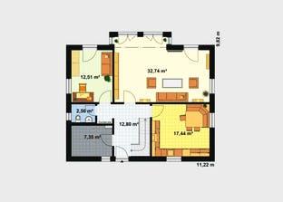 Einfamilienhaus Maxx 3/3 XL Grundriss