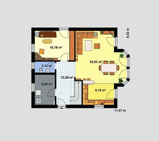 Einfamilienhaus Maxx 4/2 floor_plans 1