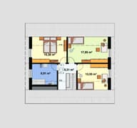 Einfamilienhaus Ratio 3/42° Grundriss