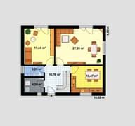 Einfamilienhaus Ratio 3/42° (inactive) Grundriss