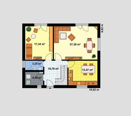 Einfamilienhaus Ratio 3/42° floor_plans 1