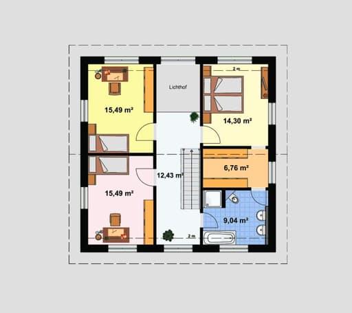 "Einfamilienhaus ""Ratio 5/25°"" mit Ankleide floor_plans 0"