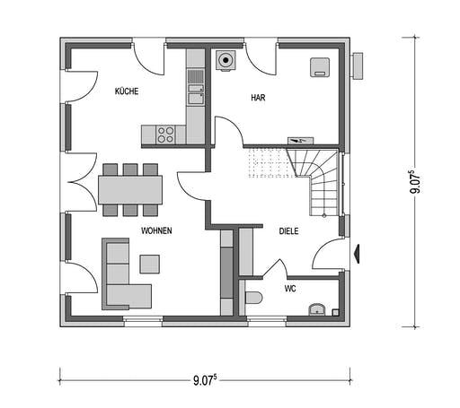 Eleganz 1000.2 Floorplan 1