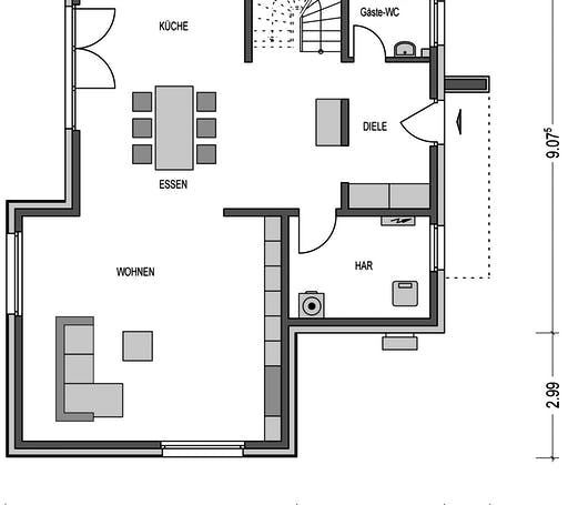 Eleganz 2000.2 Floorplan 1