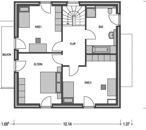 Eleganz 3000.2 Floorplan 1