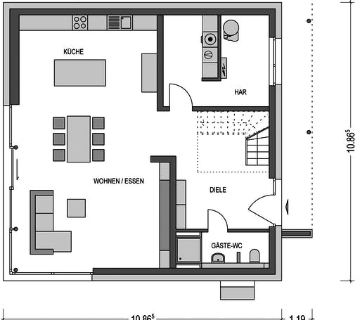 Eleganz 4000.2 Floorplan 1