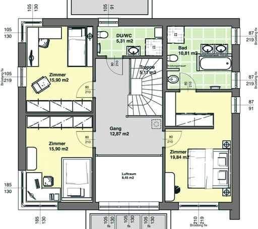 ELK 189 (Effizienzhaus 40) floor_plans 0