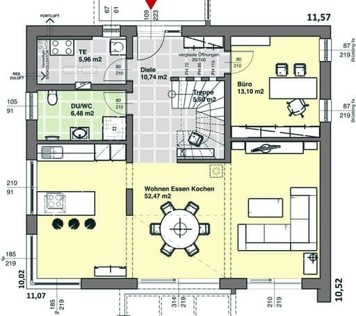 ELK 189 (Effizienzhaus 40) floor_plans 1