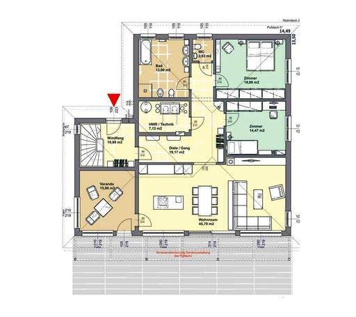 ELK AT Bungalow 146 WD Floorplan 1