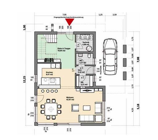 ELK AT Comfort 164 Trendline Floorplan 1