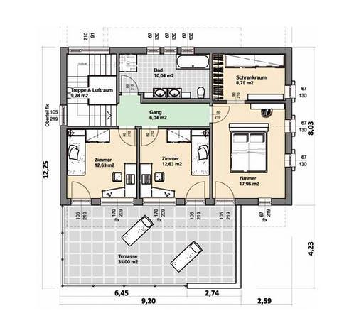 ELK AT Comfort 164 Trendline Floorplan 2