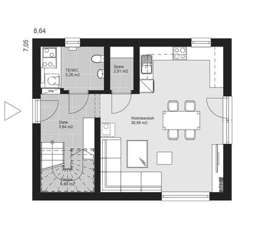 ELK AT Pure Living 2 Floorplan 1