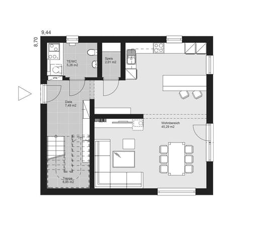 ELK AT Pure Living 4 Floorplan 1