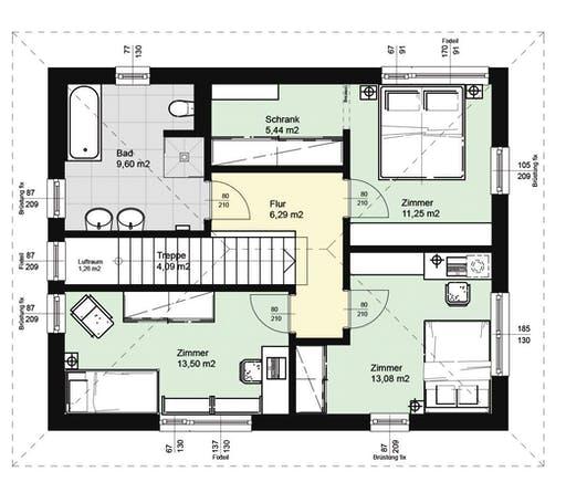 ELK AT Top Living 129 WD Floorplan 2
