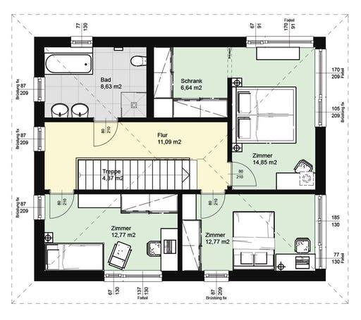 ELK AT Top Living 143 WD Floorplan 2