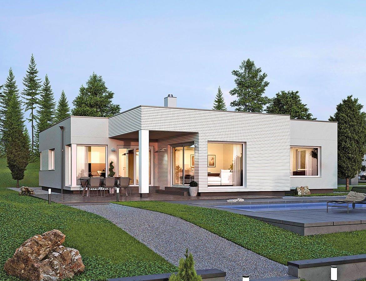 Einen Bungalow planen & bauen - Häuser & Infos | Fertighaus.de