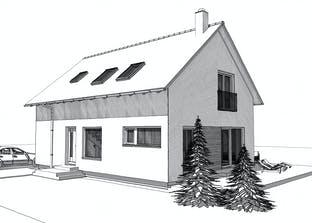 ELK HAUS 158 Satteldach 40°