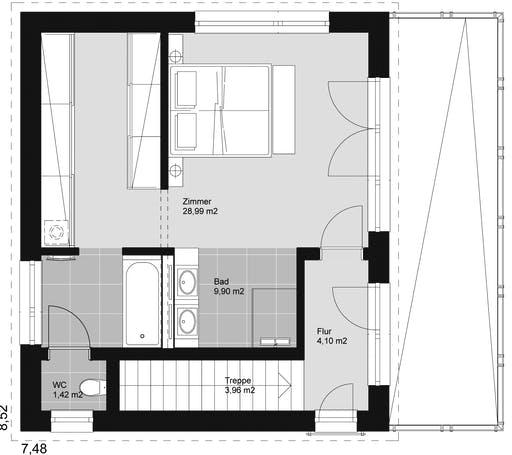 ELK HAUS 178 Flachdach Floorplan 3