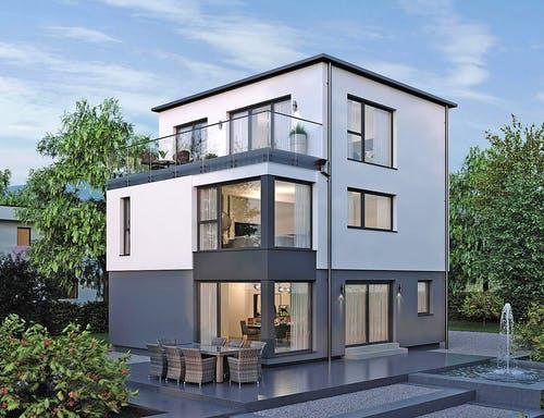 Haus mit kleiner Grundfläche - ELK HAUS 178 Flachdach Exterior 1