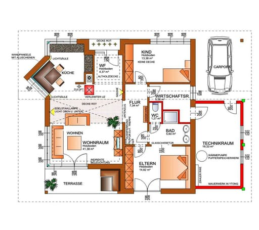 Energie-Plus-Haus (inactive) von Tirolia Blockhaus | komplette ...