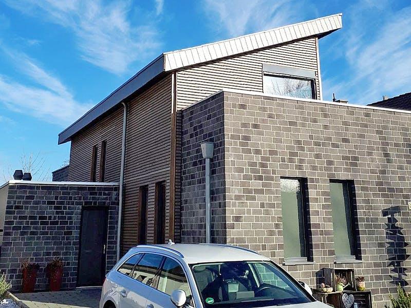 Pultdachhaus von Erkens Holztechnik