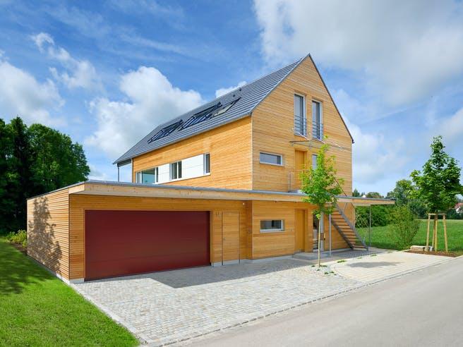 Erstling - Kundenhaus von Baufritz Außenansicht 1